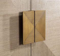 Gaspard Bar Cabinet Design von Interlude Home – Mein Stil Diy Wardrobe, Wardrobe Doors, Wardrobe Design, Porte Design, Door Design, Door Knobs, Door Handles, Cupboard Handles, Furniture Decor