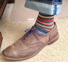 Allen Edmonds + socks