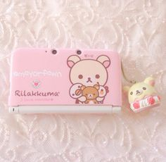 Mayorfawn | kawaii pics | rilakkuma ans korilakkuma | pink rose 3DS | re-upload pics deleted on instagram
