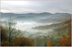 Les Vosges, Lorraine The French smoky mountains