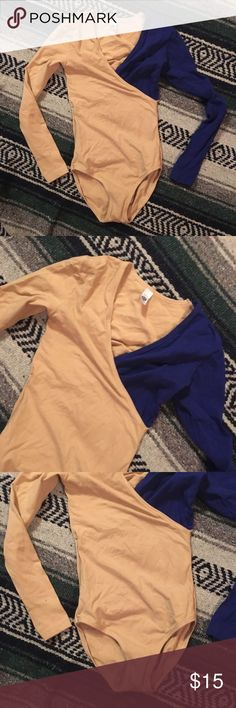 AA One Piece Bodysuit Size XS. American Apparel two tone panel Bodysuit. American Apparel Other