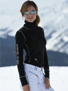 ALP-N-ROCK Ski Wear   snowflake t-neck   ski resort wear   Gorsuch