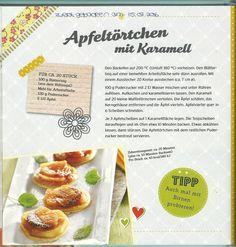 Apfeltörtchen mit Karamell