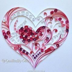 Quilling Design For Beginners Ideas Quilling, Paper Quilling Flowers, Paper Quilling Patterns, Neli Quilling, Quilled Paper Art, Quilling Tutorial, Quilling Paper Craft, Paper Beads, Paper Crafts