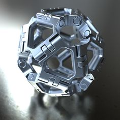 Model Of the Week: Tri-Sphere By Simon Williamson - SolidSmack Mechanical Art, Mechanical Design, Mechanical Engineering, Futuristic Art, Futuristic Technology, Surface Modeling, Cool Tools, Cyberpunk, Plexus Products