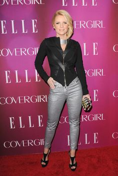 Carrie Keagan attending the 4th Annual ELLE Women in Music Celebration at The Edison Ballroom in New York - April 10, 2013 - Photo: Runway Manhattan