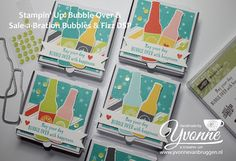 Yvonne is Stampin' & Scrapping: Stampin' Up! SAB Bubbles & Fizz DSP
