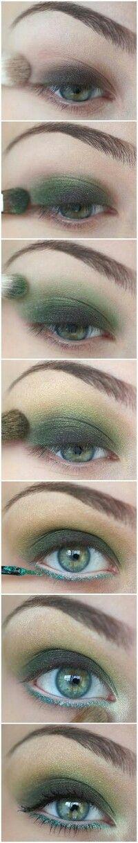 DIY make-up steps