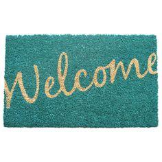 Entryways Entryways Sweet Home Cursive Welcome Doormat