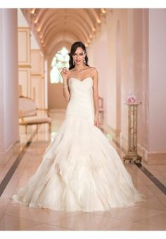 Stella York  5880  Bellissima Bridal Designs 371 Miracle Mile, Coral Gables, FL  Merlili Bridal Boutique 356 Miracle Mile, Coral Gables, FL