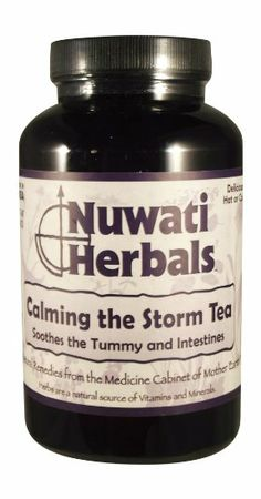Nuwati Herbals Calming the Storm Tea, 4 Ounces. Calm the wind and quiet the rumbling thunder. This tea is great for soothing the tummy and intestines.