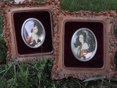 Cameo Portraits Lady Hamilton By George door VintageTreasuresRus, $19.99