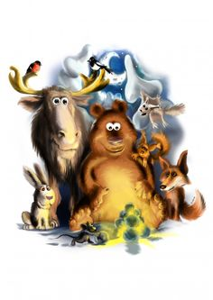 #Tietokonemaalaus #luonto #CG #Heikinkuvituspaja #animal #nature #funny