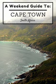 Get the most out of a long weekend in Cape Town, South Africa! Use this guide for tips on where to stay, what to do and where to eat/drink!