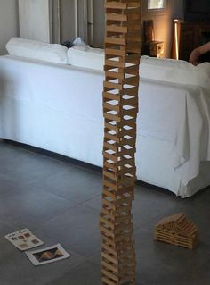 Kapla tower by Miles, Kickcan & Conkers, via Flickr