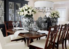 Ideas for Decorating an Elegant Dining Room Elegant Dining Room, Room Decor, Room Inspiration, Decor, Furniture Dining Room Table, Interior, Dining Room Furniture, Dining Room Updates, Home Decor