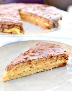 Fika, Beautiful Cakes, Baking Recipes, Sweets, Chocolate, Breakfast, Yum Yum, Desserts, Hacks