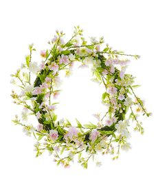 Take a look at this Cherry Blossom Wreath today!