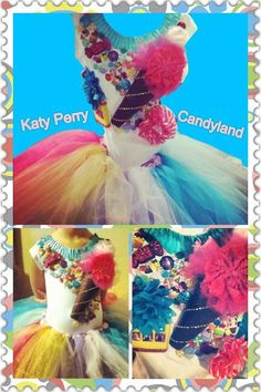 Candy Land Katy Perry Costume handmade for by CustomWreathsAndMore,