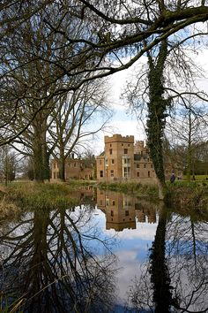 Oxburgh Hall, Norfolk, England.  - I pass this every day I take the little girls to school!