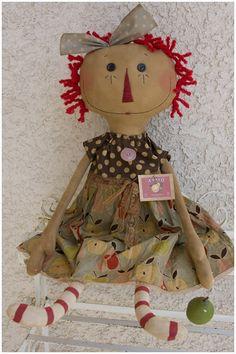 cute primitive doll