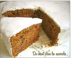 le meilleur carrot cake ...après celui du Fein Café à Maracaibo !