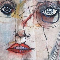 """Mi piace"": 251, commenti: 2 - nachonuez.com (@pintamonasygarabatos) su Instagram: ""Welcome to my website: http://nachonuez.com #modernart #abstract #painting #drawing #popart…"""