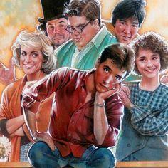 Better Off Dead (1985) by Drew Struzan (detail).
