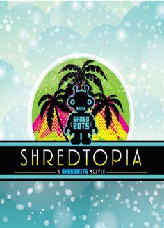 Shredtopia Snowboard DVD - A Shredbots Movie