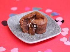 Cœurs coulants au chocolat pour la Saint-Valentin