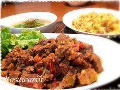 ブラジルではポピュラーなお料理だそうです。 圧力鍋で煮込むのでお肉がホロホロで美味しかったです^o^ - 127件のもぐもぐ - Hosshiiさんのカルネ・デ・パネーラ♪ドライカレー♪海老ジャガモチスープ by osawarin