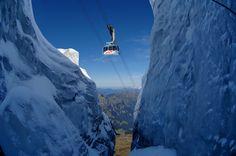 TITLIS Glacier and Rotair in Engelberg, Switzerland