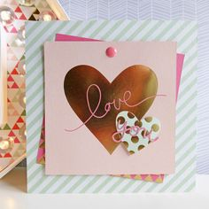 MME On Trend 2 - Love You card
