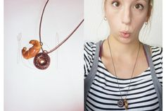 Junk - Croissant - Very Limited handmade jewels by Morgane Morel