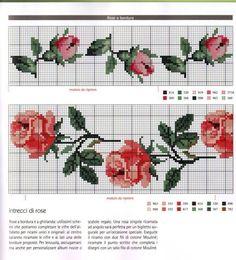 Naughty Cross Stitch, Cute Cross Stitch, Cross Stitch Borders, Cross Stitch Rose, Cross Stitch Flowers, Cross Stitch Charts, Cross Stitch Designs, Cross Stitching, Cross Stitch Patterns