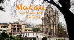 Day trip to Macau from Hong Kong.