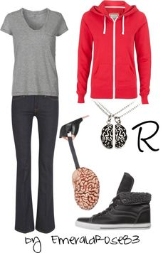 """Warm Bodies - R"" by emeraldrose83 on Polyvore"