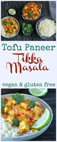 Tofu Paneer Tikka Masala @spabettie #vegan #glutenfree #spicy #sweet #curry #nasoya #ad
