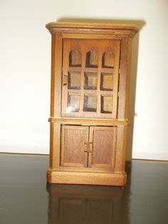 Corner Cupboard Vintage Dollhouse Furniture Miniatures #Renwal