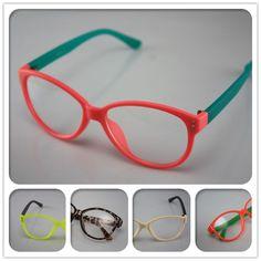e5d52cd7b155a moda vintage doces rodada cor neon simples estrutura de armação de óculos  armação de óculos feminino 1912