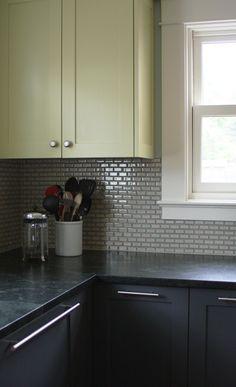 Backsplash Tile in Clinton Kitchen Remodel