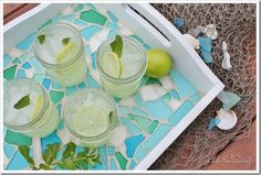 DIY mosaic craft projects are always a beauty to behold. This article showcases 15 Easy but Stunning DIY Mosaic Craft Projects for your Home Décor Mosaic Crafts, Mosaic Projects, Craft Projects, Project Ideas, Craft Ideas, Simple Projects, Craft Tutorials, Sea Glass Mosaic, Mosaic Tray