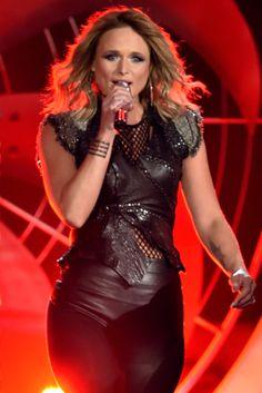 "Miranda Lambert Singing ""Little Red Wagon"" at the Grammys"