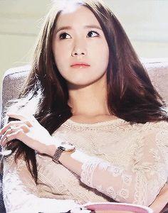 Yoona SNSD Girls Generation Casio Sheen GIF