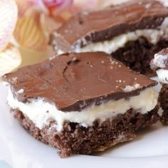 Brownie Cheesecake Bars Recipe