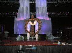 church stage design for christmas | Easter Designs | Church Stage Design Ideas