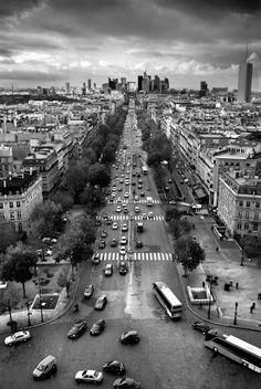 La grande armée (PR-3958) - Photo noir et blanc de Christophe Lecoq