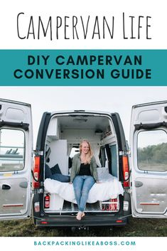 The ultimate guide to converting your RV – step by step to your tiny home! How to Build A Campervan? Van Life Here your Campervan Conversion Guide to Van Life. Read my camper van conversion guide for how to build Build A Camper, Diy Camper, Truck Camper, Travel Camper, Van Conversion Guide, Camper Van Conversion Diy, Van Conversion Floor Plans, Campervan Conversions Layout, Life Hacks