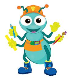 Gear up for WOW with Rivet! Clip art for your use! www.cokesburyvbs.com