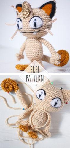 Mesmerizing Crochet an Amigurumi Rabbit Ideas. Lovely Crochet an Amigurumi Rabbit Ideas. Pokemon Crochet Pattern, Pikachu Crochet, Crochet Amigurumi Free Patterns, Crochet Dolls, Easy Crochet, Free Crochet, Crochet Leg Warmers, Crochet For Beginners, Crochet Projects